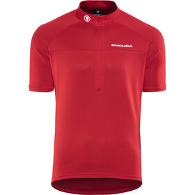 Endura Xtract II Shortsleeve Jersey Herrer, red